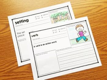 Reading Vocabulary for Kindergarten & First Grade