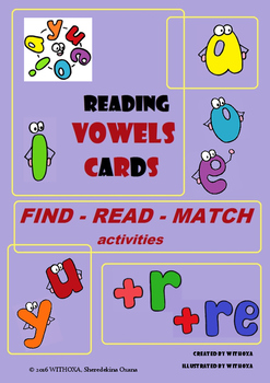 Reading Vowels Cards