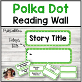 Reading Wall Polka-Dot Reading Titles and Lettering