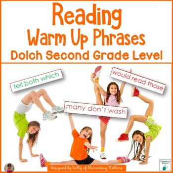 Dolch Warm Up Phrases Second Grade Level
