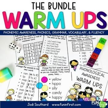 Reading Warm Ups Bundle