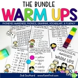 Reading Warm Ups Bundle