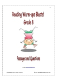 Reading Warm-ups - Blasts! - Grade 8 - Passages and Questions