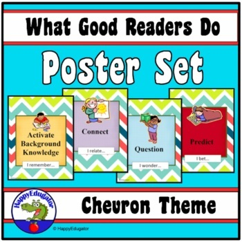 Reading Strategies - What Good Readers Do Posters