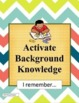 Reading Strategies Posters - What Good Readers Do Chevron Classroom Decor