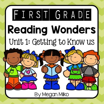 Reading Wonders Unit 1 - Getting to Know Us