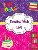 Reading Wish List