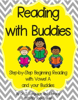 Reading With Buddies: Vowel A (PreK and Kindergarten)