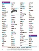 Reading With Color: 2200 Common Words with Phonics Hints