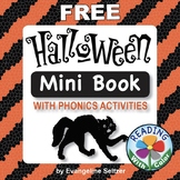 Reading With Color: FREE Halloween Mini Book With Phonics