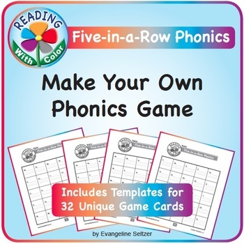 Reading With Color: Make Your Own Phonics Game