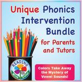 Reading With Color: Unique Phonics Intervention Bundle for Parents and Tutors