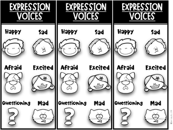 Reading With Expression Bookmarks!