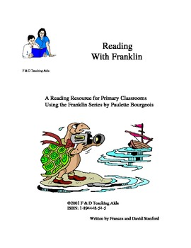 Reading With Franklin Author Study For Kindergarten and Grade 1