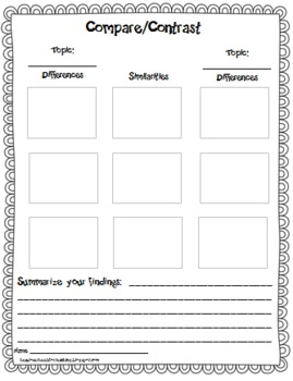 Reading With Post-Its {Freebie}