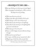 Reading With Your Child Parent Handout