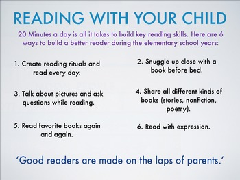 Image result for reading at home with your child