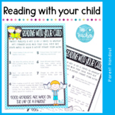 Reading With Your Child - parent handout