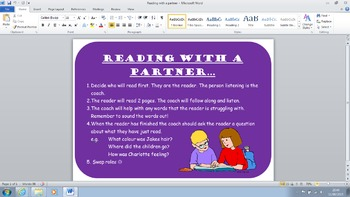 Reading With a Partner Tips