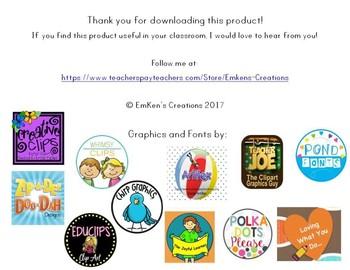 Reading Wonders 1st Grade Leveled Reader Handouts Unit 5