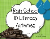Reading Wonders 1st Grade Rain School 6.3 {10 Literacy Activities}