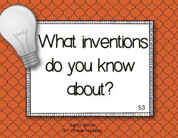 Reading Wonders 1st Grade Thomas Edison, Inventor 5.3 {10 Literacy Activities}