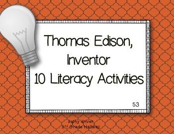 Reading Wonders 1st Grade Thomas Edison, Inventor 5.3 {10