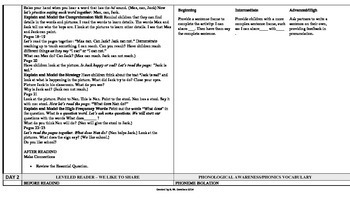 Reading Wonders 1st Grade UNITS 1-6 ELL Plans **BUNDLE**