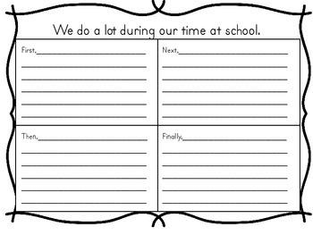 Reading Wonders 1st Grade Writing Graphic Organizer Unit 3 Week 1