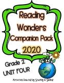 Reading Wonders 2020 Companion Pack Grade 2 UNIT FOUR BUNDLE