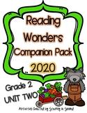 Reading Wonders 2020 Companion Pack Grade 2 UNIT TWO BUNDLE