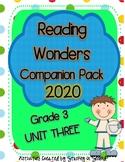 Reading Wonders 2020 Companion Pack Grade 3 UNIT THREE BUNDLE