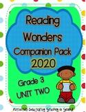 Reading Wonders 2020 Companion Pack Grade 3 UNIT TWO BUNDLE