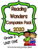 Reading Wonders 2020 Companion Pack Grade 2 UNIT ONE BUNDLE