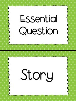 Reading Wonders 2nd Grade Focus Wall Headers and Anchor Charts for Unit 2