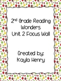 Reading Wonders 2nd Grade Focus Wall Headers and Anchor Ch