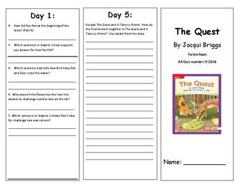 Reading Wonders 2nd Grade Leveled Readers Brochures Unit 1 Week 1 (All levels)