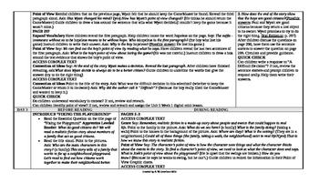 McGraw-Hill Reading Wonders 2nd Grade UNIT 5 Intervention Wonderworks Plans