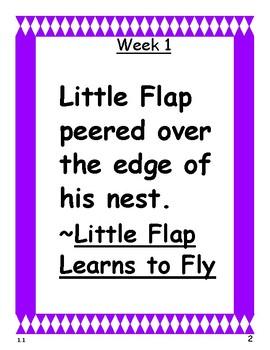 Reading Wonders 2nd Grade Unit 1 Grammar Notebook with Mentor Sentences