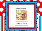 Reading Wonders 2nd Grade Unit 1 Lesson 2