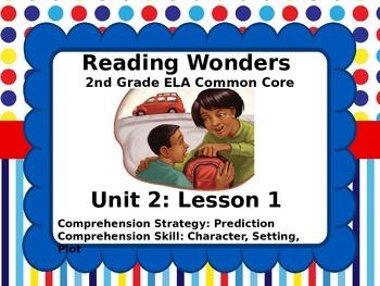 Reading Wonders 2nd Grade Unit 2 Lesson 1