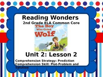 Reading Wonders 2nd Grade Unit 2 Lesson 2