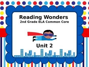 Reading Wonders 2nd Grade Unit 2 Lesson 6