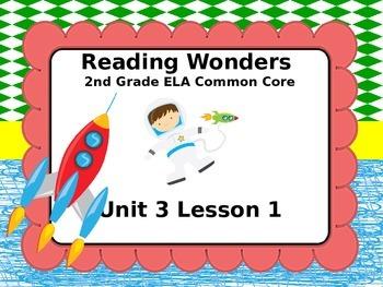 Reading Wonders 2nd Grade Unit 3 Lesson 1