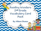 Reading Wonders 2nd Grade Vocabulary Card Pack
