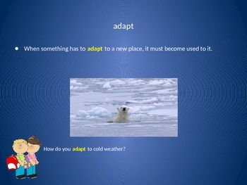 Reading Wonders 2nd Grade Vocabulary PowerPoint Unit 2, Week 1