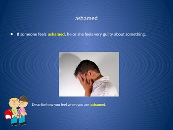 Vocabulary PowerPoint to use with Reading Wonders Unit 4, Week 4