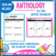 Reading Wonders 3rd Gr Constructed Response Worksheets Bundle Units 1-6
