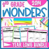Reading Wonders Units 1-6 Constructed Response Worksheets Bundle - Grade 3