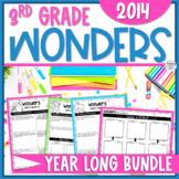 Reading Wonders Units 1-6 Constructed Response Worksheets Bundle - Grade 3